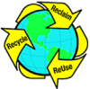 OMH Reduces, Reuses and Recycles.