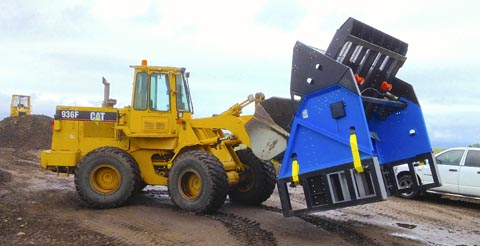 Moving a large Topsoil Screener SLG-108VFRB